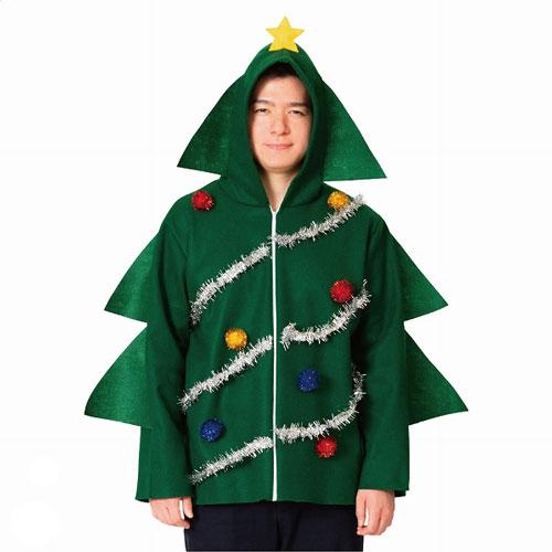クリスマスなりきりパーカー