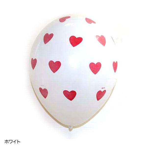 クォラテックス製ゴム風船【ラブ・ビッグハーツ】 (11インチ×50枚)
