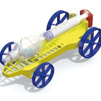 空気と水エアーチャージカー作り