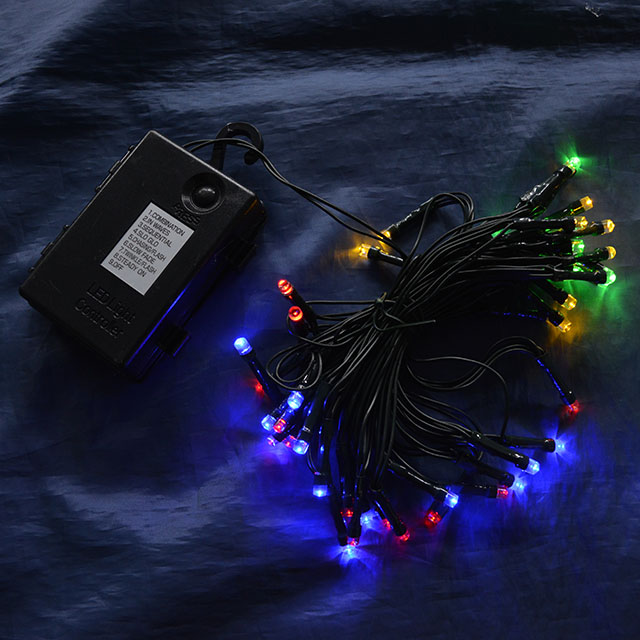 電池式イルミネーションライト(50球)(100球)
