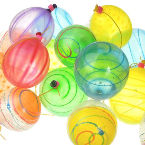 水ヨーヨーつり備品 ファンタスティック水ヨーヨー箱セット  (風船100個入り)