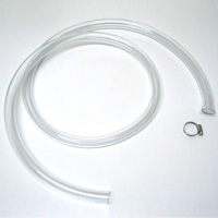 【アドバルーン用単品】透明ビニールホース(ホースクランプ付き)