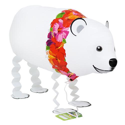 お散歩パピーシリーズ シロクマくん(ハワイアン)
