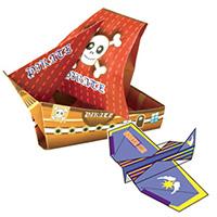 船と飛行機の折り紙作り 50名様用パッケージセット