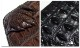 BORNTORUN ワニ革 本革 クロコダイル 財布  長財布 レザー ラウンドファスナ ー 男性用 メンズ サイフ 本物  クロコ ブラウン ブラック