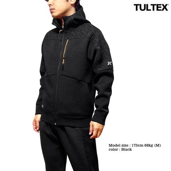 TULTEX ジップパーカー メンズ アウター 撥水 ジャケット スウェット パーカー ジップアップ 肉厚 軽量 厚手 帯電 静電気 防止 フード 秋 冬 3L 大きいサイズ