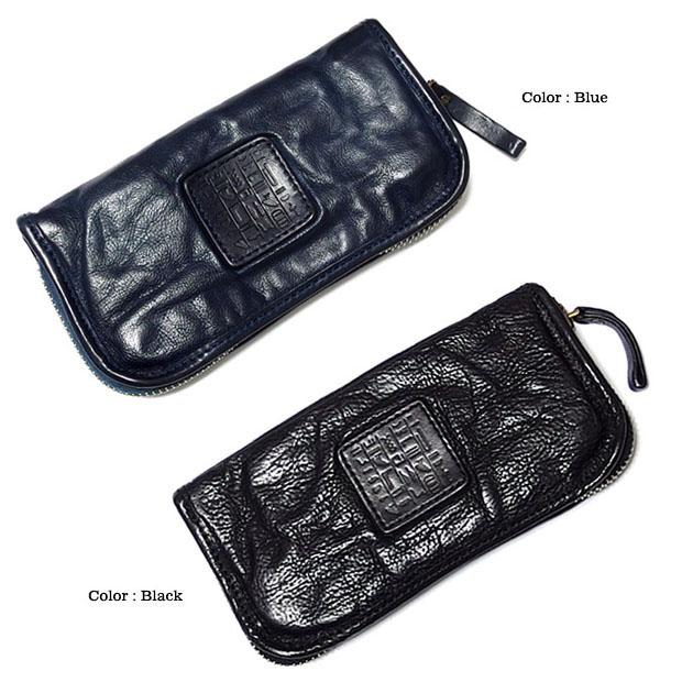 EVERSOUL PLUS SELECT  財布 長財布 ラウンドファスナー 男性用 メンズ 本革 カウレザー サイフ 黒 ブラック ネイビー ブラウン レッド 赤 ロングウォレット