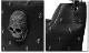 EVERSOUL PLUS SELECT ハンドバッグ レディース メンズ ユニセックス スタッズ スカル 大きめ フェイクレザー 2WAY ショルダーバッグ ブラック 黒 ビジュアル系 原宿系