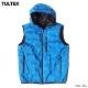 TULTEX 中綿ベスト フード付き パーカー メンズ ベストパーカー アウトドア 釣り キャンプ 秋 冬 暖かい