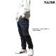 TULTEX ジョガーパンツ デニム カーゴパンツ サルエル ジーンズ メンズ ストレッチ カーゴポケット インディゴ ブルー アウトドア ワークパンツ 大きいサイズ 3L
