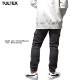 TULTEX ジョガーパンツ デニム カーゴパンツ 裏シャギー 裏フリース ジーンズ メンズ ストレッチ カーゴポケット ボンディング 暖パン ワークパンツ 大きいサイズ 3L