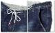 SPACE 9 デニム ジーンズ メンズ ジーパン ボトムス パンツ ウォッシュ ダメージ ストレッチ ストレート XL XXL インディゴ