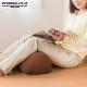 膝クッション 膝裏クッション ビーズクッション 足枕 足まくら 日本製 固め 腰痛 ひざクッション シンプル 腰枕 背もたれ 母の日 敬老の日