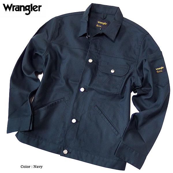 Wrangler ラングラー ワークジャケット Gジャン ボタンダウン メンズ アウター ワークウェア ジャケット 秋 春 LL 3L