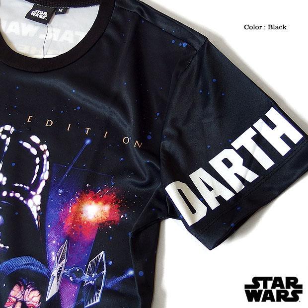 STARWARS スターウォーズ ダースベイダー Tシャツ ダースベーダー メンズ 半袖 総柄 プリント キャラクター 映画 グッズ ロゴ