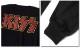 KISS キッス ロンT 長袖 Tシャツ メンズ ロングスリーブ ロック メンバー グッズ ロゴ フェス バンド 衣装 袖 プリント ブラック