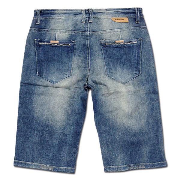 DIECOMBY ハーフパンツ メンズ デニムショ ート デニム ショートパンツ お しゃれ 厚手 大きいサイズ