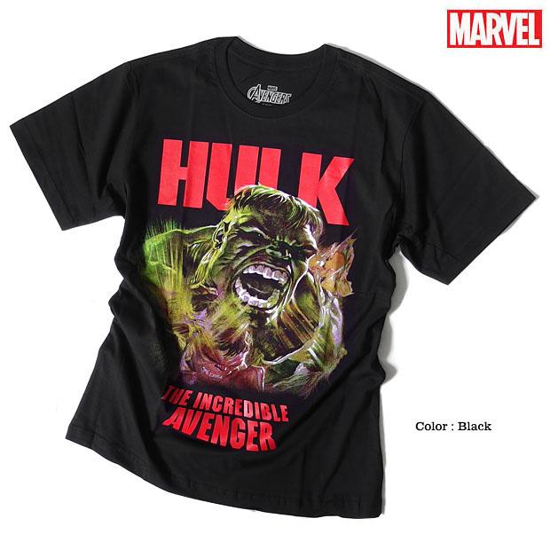 MARVEL 超人 ハルク マーベル Tシャツ アベンジャーズ 半袖 プリント キャラクター アメコミ tシャツ