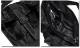 MACKAR ショルダーバッグ メッセンジャーバッグ おしゃれ ブラック 黒 かばん ポーチ ファスナー ポケット メンズ バッグ 斜め掛け カーボン ミリタリー