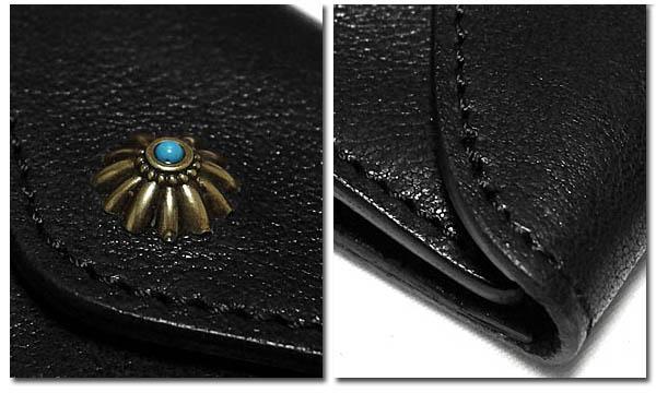 EVERSOUL PLUS SELECT 財布 二つ折り レザー 本革 男性用 メンズ サイフ ショートウォレット 小銭入れ 短財布 ビンテージ おしゃれ シンプル ボタン