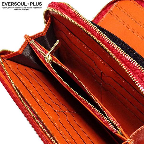 EVERSOUL ミニセカンドバッグ セカンドバ ッグ レザー クロコダイル メン ズ かばん カバン 鞄 型押し 本 革