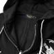 EVERSOUL ジップパーカー メンズ 裏起毛 パーカー 春 春物 秋 ガールプリント ジップアップ バックプリント 和柄 イラスト