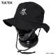 TULTEX サファリハット サーフハット メンズ レディース 防水加工 UVカット 日除け 帽子 ハット ぼうし アウトドア 迷彩 カモフラ