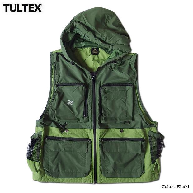 TULTEX PREMIUM ベスト フード付き パーカーベスト メンズ アウトドア 釣り キャンプ 大きいサイズ 3L ジップアップ 防災グッズ 作業着 登山