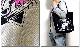 EVERSOUL 殺し屋ジョニー トートバッグ エ コバッグ キャンバス 大きめ メ ンズ レディース 布 丈夫 かわい い 原宿系 キャラクター プリン ト ブラック 黒 コラボ