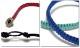 EVERSOUL ブレスレット メンズ アクセサリー 静電気防止 静電気 除去  編み込み ブレス ブラック レッド ブルー 黒 赤 アクセ