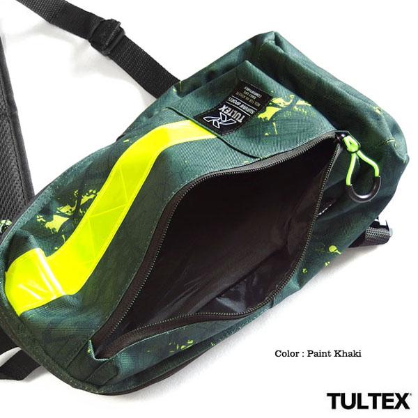 TULTEX ボディバッグ メンズ レディース ワンショルダー おしゃれ シンプル リフレクター スポーツ タルテックス バッグ かばん 軽量