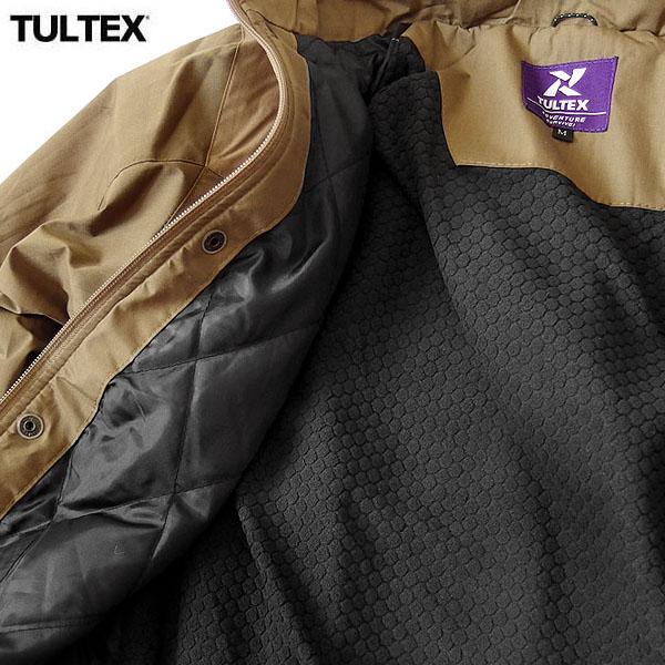 TULTEX ジャケット アウター ジャンパー メンズ フリース ジップアップ ブルゾン 秋 冬 3L アウトドア 防寒 暖かい ウォーキング