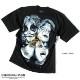 KISS キッス Tシャツ メンズ プリント 厚手 ヘビーウェイト バンドT 半袖 メンバー グッズ オーバーサイズ