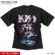 KISS キッス Tシャツ メンズ プリント 厚手 ヘビーウェイト バンドT 半袖 ビッグシルエット オーバーサイズ