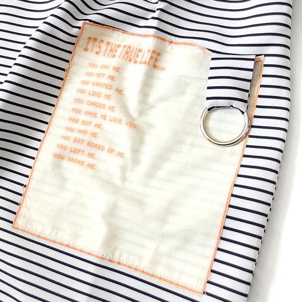 EVERSOUL 五分袖 カットソー メンズ ボーダー 5分袖 ワイドシルエット ビッグTシャツ ドロップショルダー 春 夏