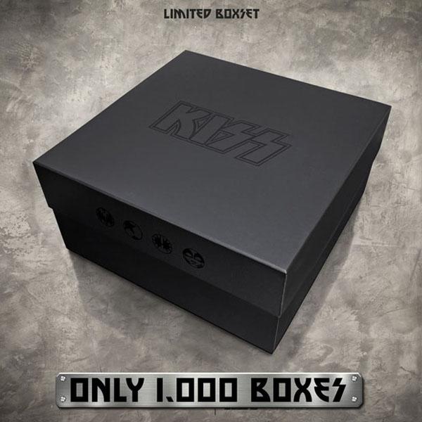 KISS キッス 限定 ボックス BOX Tシャツ メンズ キャップ 帽子 ポスター ピンバッチ グッズ