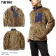 TULTEX ボア フリース ジャケット ブルゾン メンズ 暖かい ポケット付き アウトドア 釣り キャンプ 大きいサイズ 3L