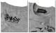 Anarchist JAPAN ガールプリント ロンT メンズ ヌード 長袖 ロングTシャツ EVERSOUL コラボ 綿 コットン 杢グレー