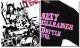 EVERSOUL ロンT 長袖 Tシャツ メンズ ガールプリント モーターサイクル 女の子柄 キャラクター ホワイト 白 ブラック 黒 jb style