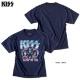 KISS キッス Tシャツ オーバーサイズ ビッグTシャツ メンズ プリント バンド 半袖 大きいサイズ
