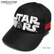 STARWARS 帽子 スターウォーズ ダースベイダー メンズ ベースボールキャップ 刺繍 ロゴ 厚盛り ダンス グッズ 黒 ブラック