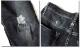 ジーンズ デニム メンズ ジーパン ボトムス パンツ ウォッシュ ダメージ ストレッチ ストレート ロールアップ 送料無料 極上