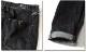 SPACE 9 ジーンズ デニム メンズ ジーパン ボトムス パンツ ウォッシュ ブラック ストレッチ ストレート ロールアップ