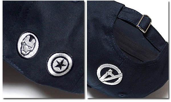MARVEL マーベル アベンジャーズ ストリートキャップ メンズ ベースボールキャップ 刺繍 ロゴ ダンス ベントブリム