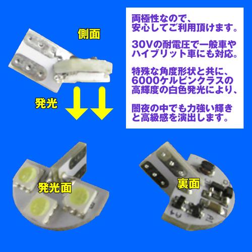 LEDライセンスランプ エブリイ ワゴン バン 共用 DA17W / DA17V  (H27/2〜) DYPオリジナル ナンバー灯