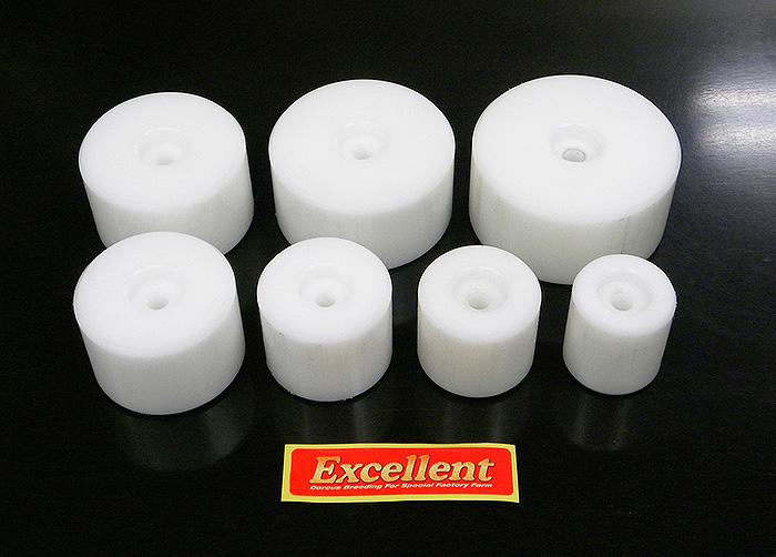 エクセレントオリジナル 菌糸瓶プレス機専用アタッチメント【80Φ】