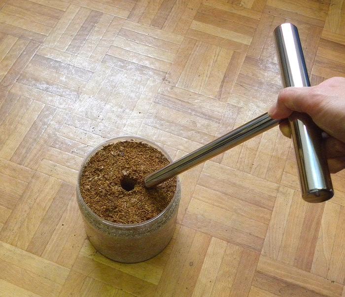 エクセレントオリジナル 菌糸瓶ハンドプレス(空気穴用)