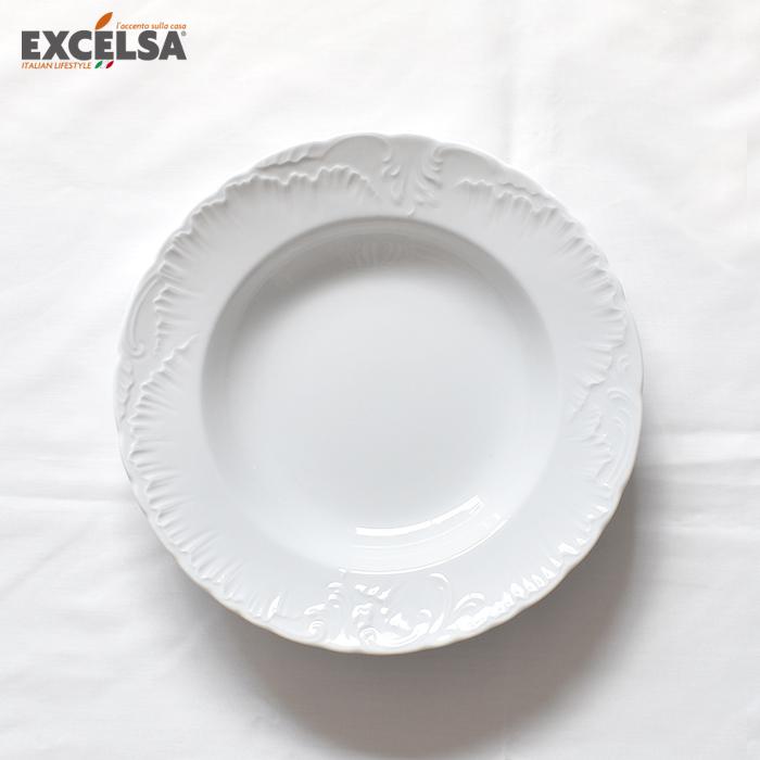 エリサ ロココ スーププレート22cm