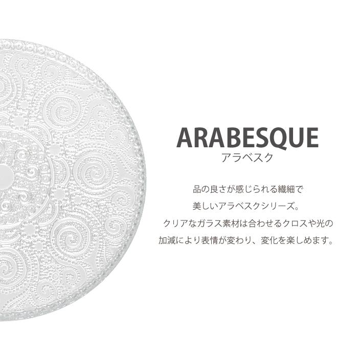 アラベスク デザートプレート21cm