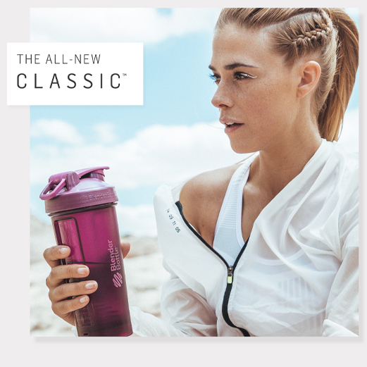 BlenderBottle&reg; Classic V2&#8482;<br>ブレンダーボトルクラシックV2 20oz Full Color/Plum